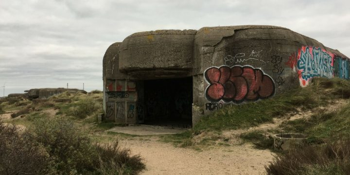 Exploring An Intact German Atlantic Wall Gun Battery