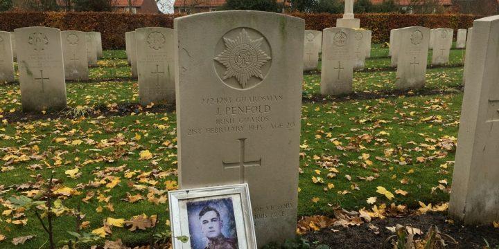 Milsbeek War Cemetery: A Closeup