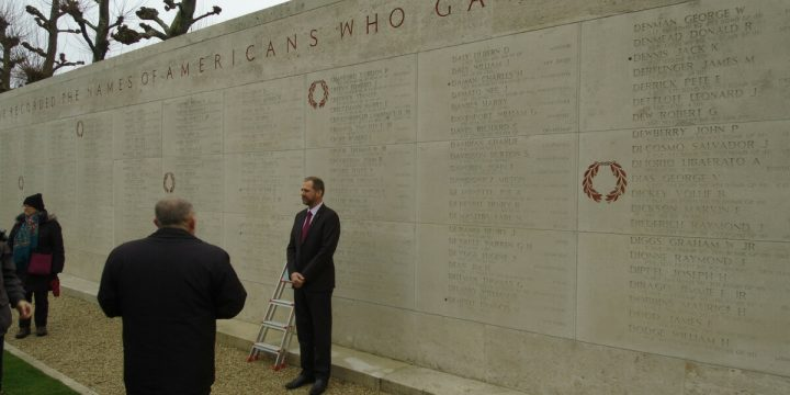 Wall of the Missing Ceremony at Margraten Cemetery