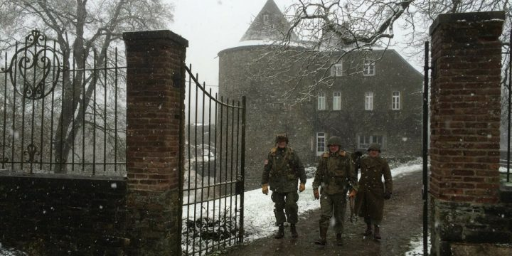 This Castle Was The Bastogne HQ of the 502nd PIR – 101st Airborne