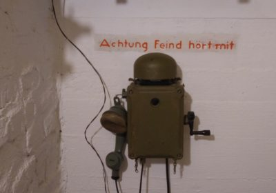 Hürtgenwald Restored First Aid Bunker