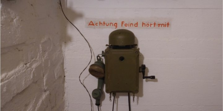 Hürtgenwald Restored First Aid Bunker