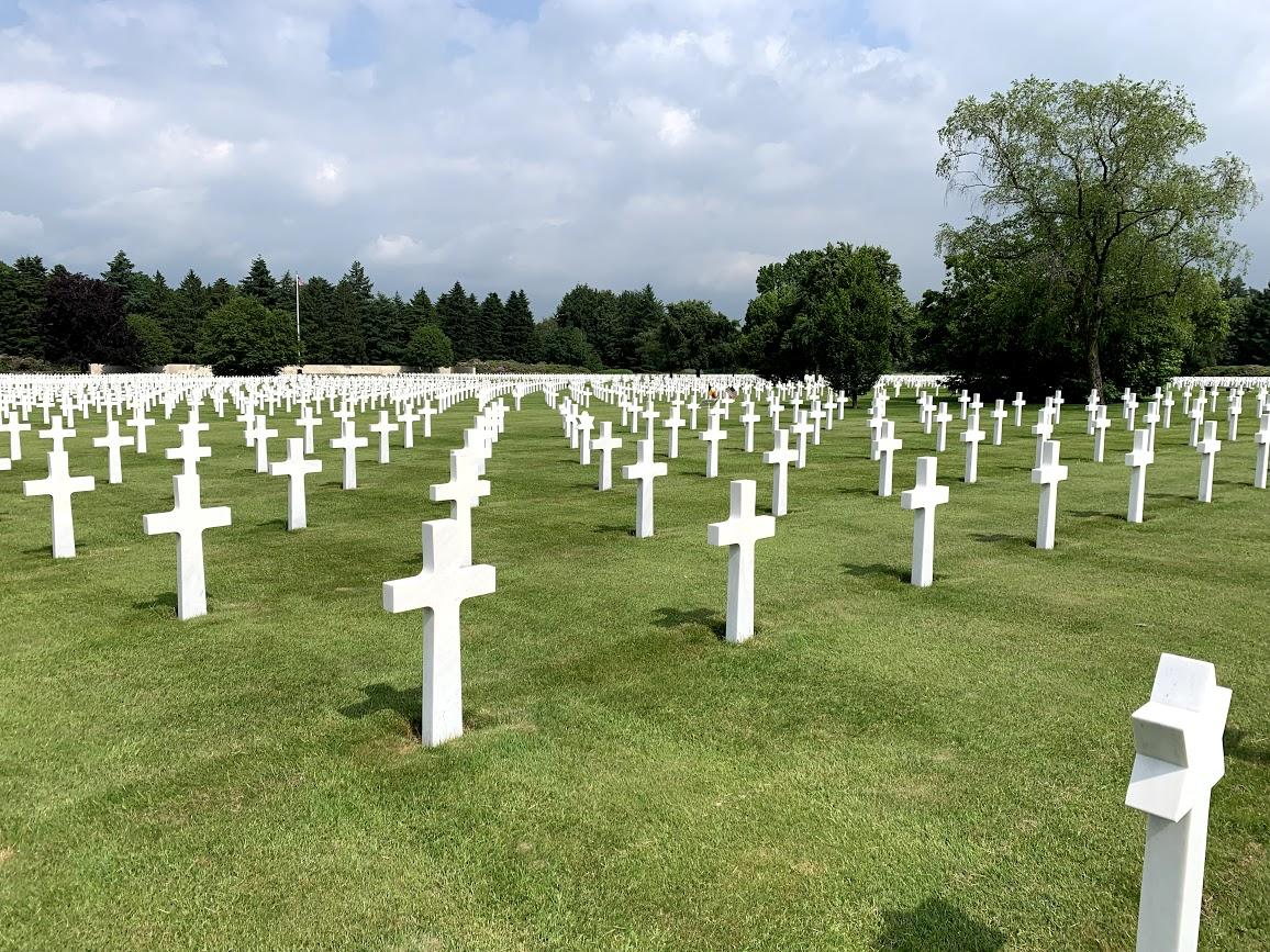 A visit to Margraten & Henri Chapelle American Cemeteries